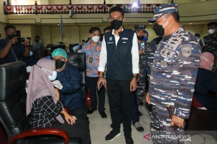 Bupati apresiasi servak Lanal di gedung DPRD Banjar