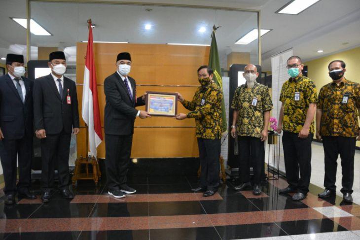 Bupati Tangerang terima penghargaan WTP Ke-13 kali