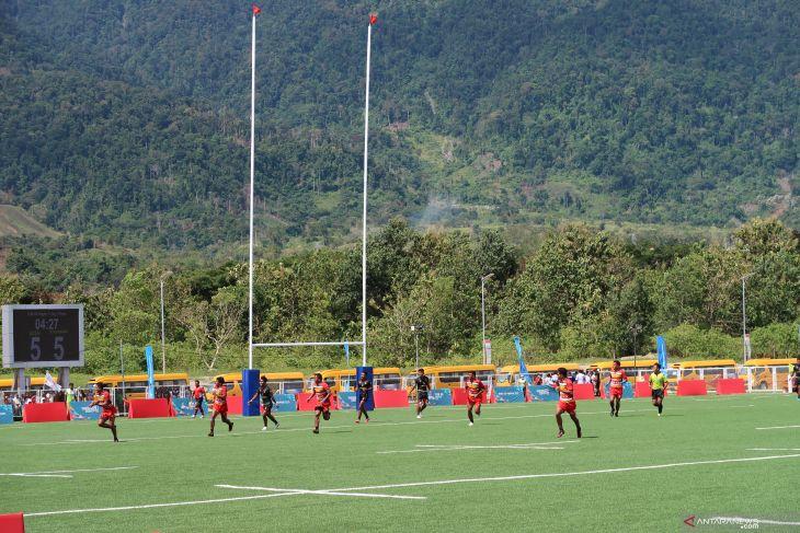 PON Papua - Tim rugby putra Aceh segel medali perunggu
