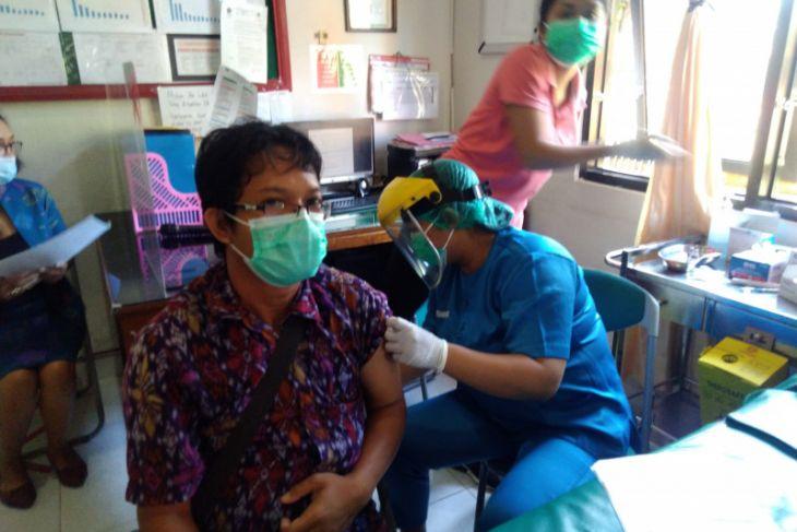 Satgas Bali: Vaksinasi COVID-19 dosis pertama capai 99,09 persen