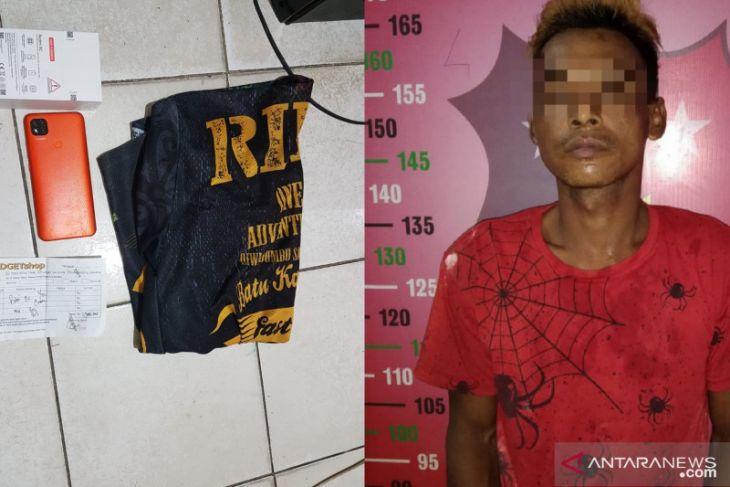 Ketahuan di CCTV, pencuri di warung makan Barabai dibekuk Polisi
