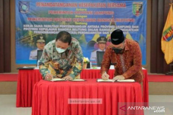 Pemprov Babel dan Lampung sepakat bangun jalur transportasi laut