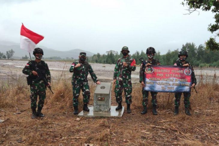 Menjaga patok batas Indonesia dan Timor Leste