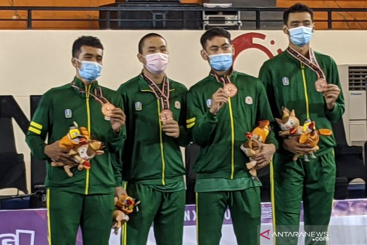 PON Papua: Basket 3x3 putra Jatim terima medali perunggu