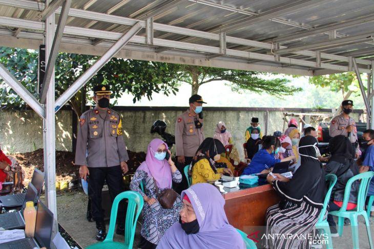 Polres Sukabumi Kota gelar gebyar seribu vaksin lansia
