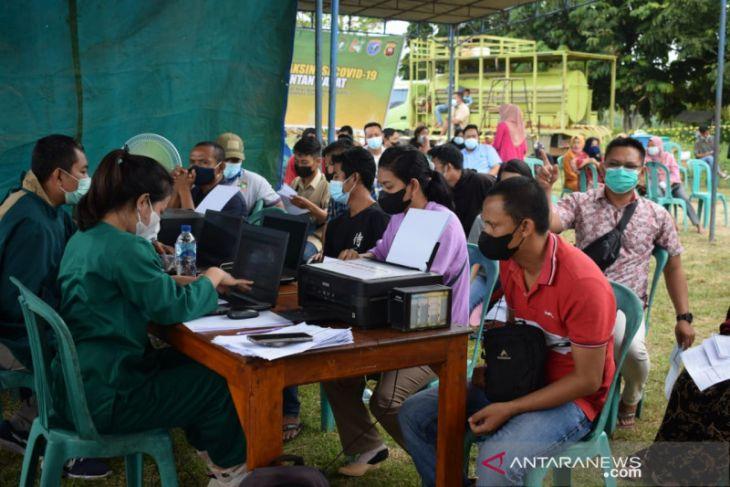 Gapki Kalbar : 20.316 orang ikuti program vaksinasi di kawasan perkebunan