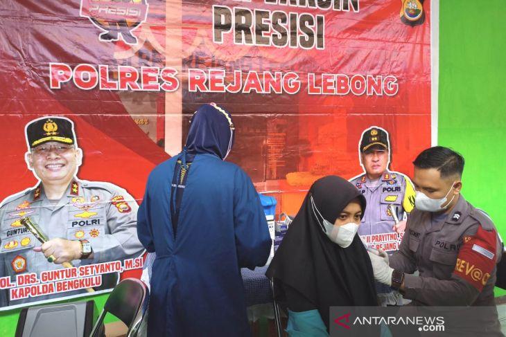 Satgas: 29.648 warga Rejang Lebong selesai divaksin
