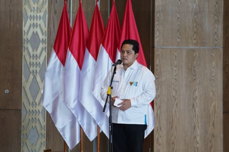 Erick Thohir: Transformasi BUMN mendapat apresiasi Presiden Jokowi