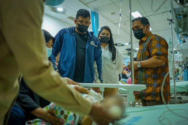 Pemkot Medan pantau kondisi Aiyla Adisty bayi penderita penyakit langka