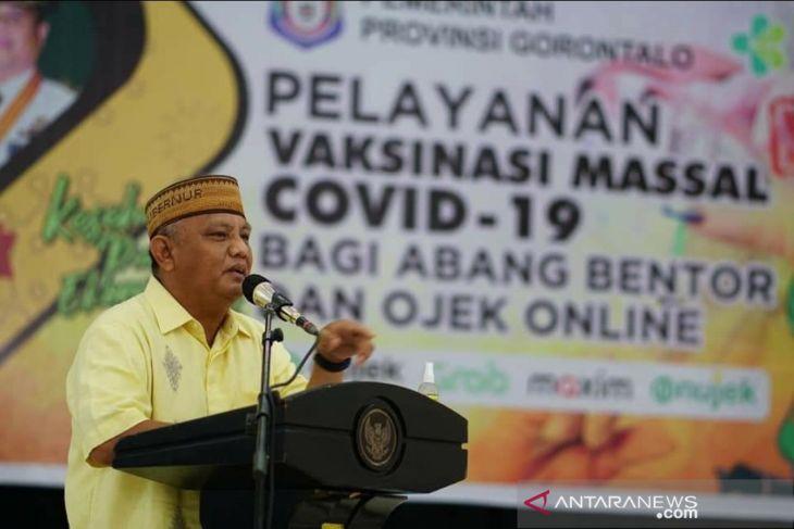 Gubernur Gorontalo: Meskipun kasus COVID-19 turun, jangan lengah