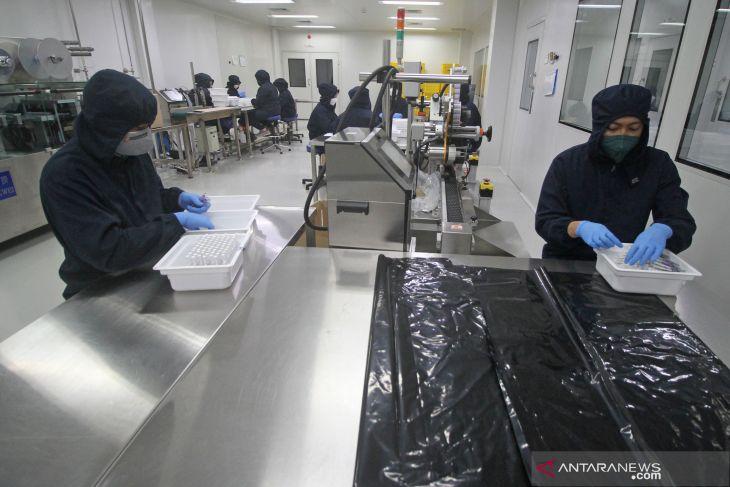 Penerapan Protokol Kesehatan di Pabrik Daewoong Infion