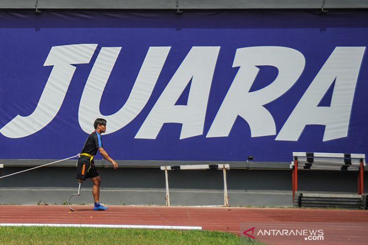 Persiapan atlet Peparnas Jawa Barat