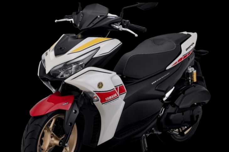 All New Aerox 155 Connected ABS Tampil dengan Livery Khas Balap Yamaha