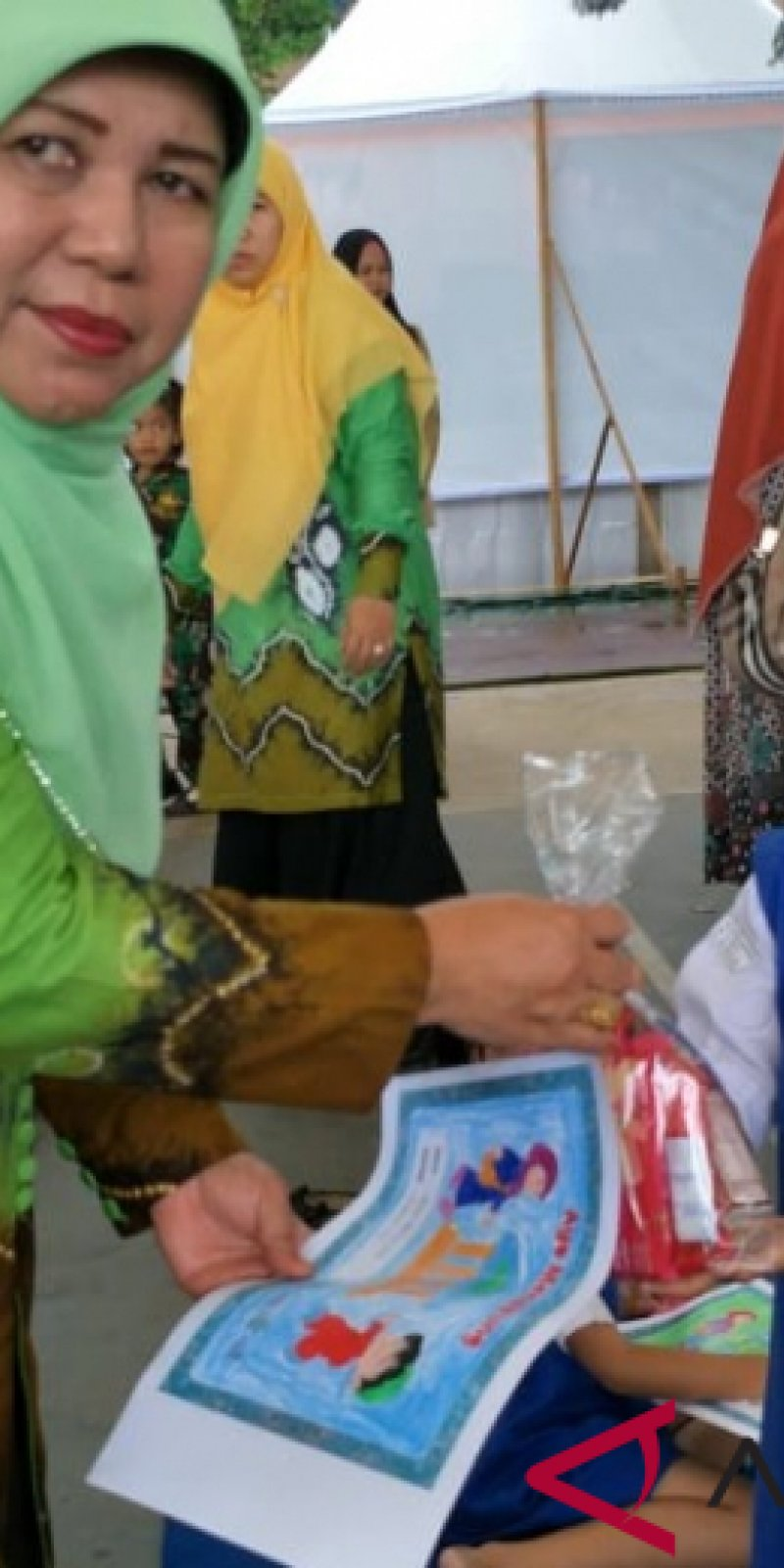 Video Edukasi Dini Menabung PKK HSS Gelar Lomba Mewarnai