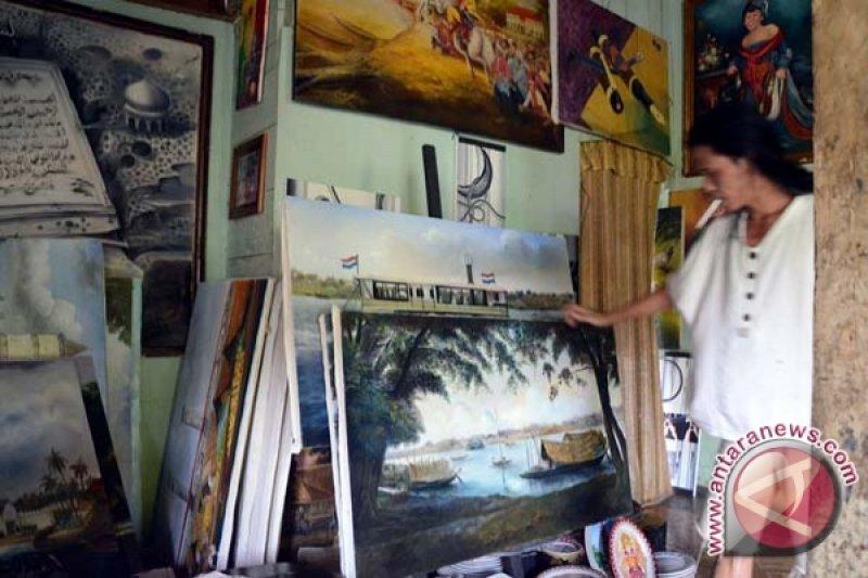 """Empat pelukis siapkan pameran """"Untoldology"""" di Borobudur"""