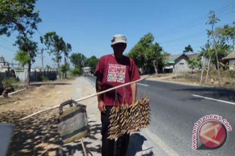 Produsen belalang goreng keluhkan harga bahan baku