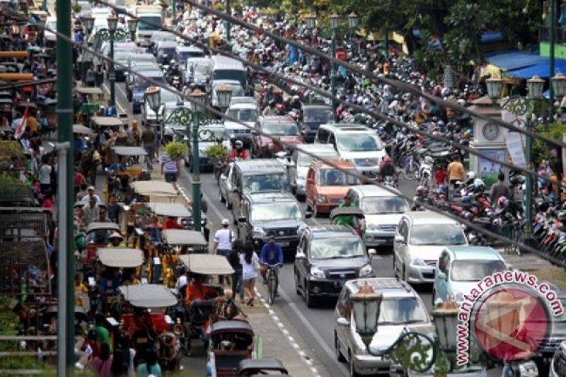 Malioboro Yogyakarta dipadati wisatawan
