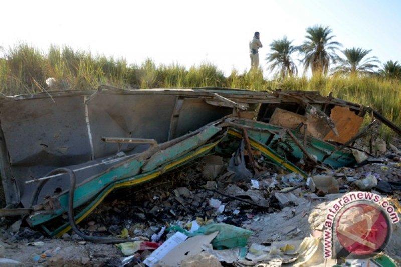 Kecelakaan kereta api di Mesir, 11 orang tewas, 98 terluka