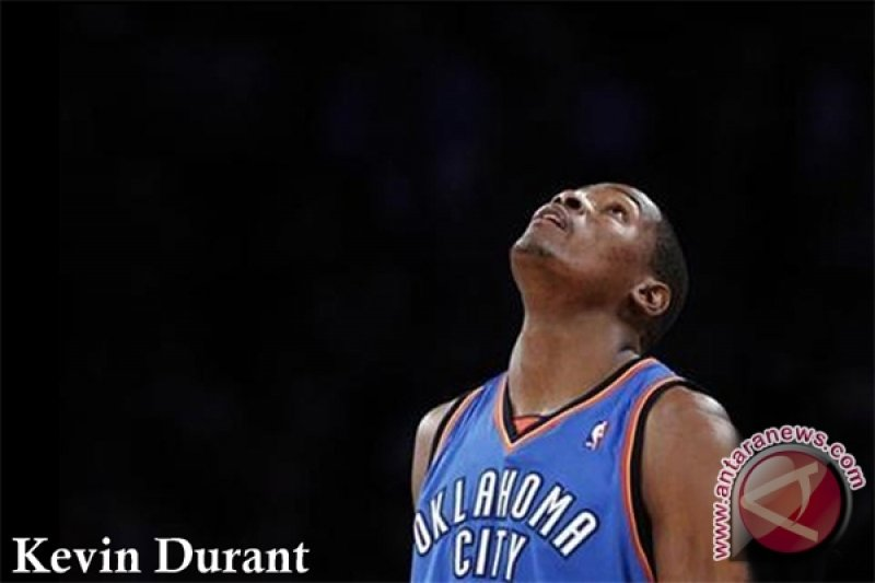 Kevin Durant menangkan Thunder atas Knicks