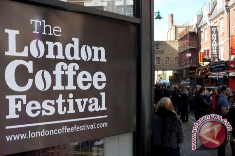 Paviliun Indonesia di serbu pengunjung London Coffee Festival
