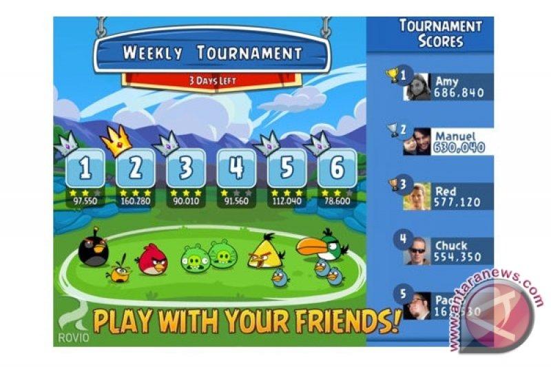 Angry Birds pertemukan pengguna Facebook di iOS