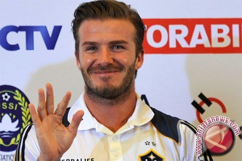 Keinginan Beckham untuk satukan Messi dan Ronaldo
