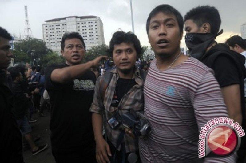 Wartawan RCTI sempat tak sadar saat dikeroyok mahasiswa