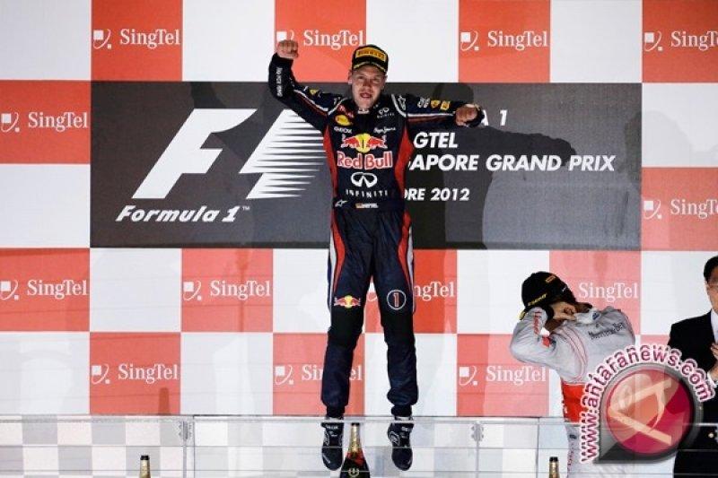 Vettel bersama Red Bull hingga akhir 2015