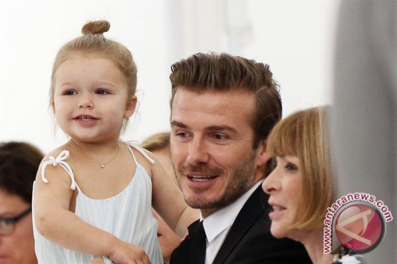 David dan Brooklyn Beckham terlibat tabrakan mobil