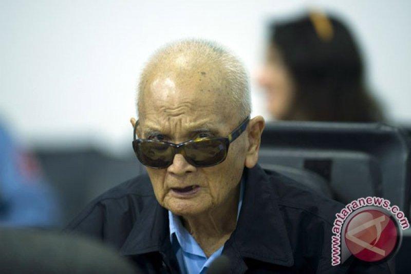 Pimpinan ideologi Khmer Merah meninggal dunia