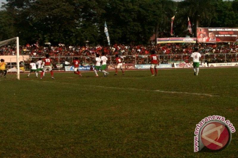 Timnas U-23 Kalahkan Lampung Selection 2-1