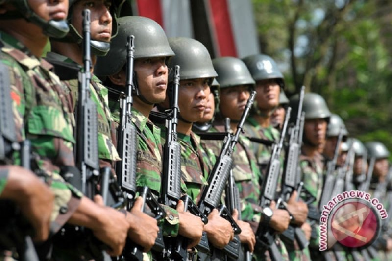 450 prajurit Yonif Raider Kodam Sriwijaya siap amankan perbatasan RI-Malaysia