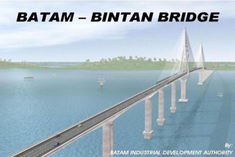 Pemprov Kepri siapkan pembebasan lahan pembangun jembatan Batam-Bintan