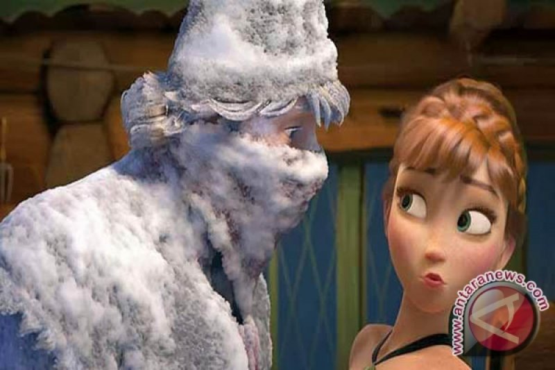 """Soundtrack """"Frozen"""" hit di tangga musik Korsel"""