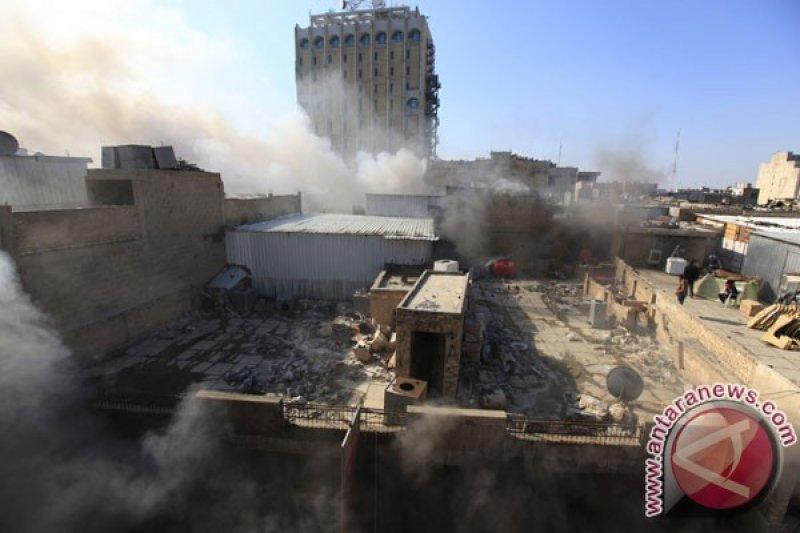 Dua roket menghantam Zona Hijau Baghdad