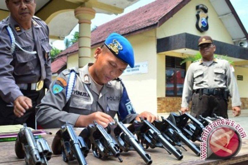 Polri: enam anggota polisi terperiksa dalam kasus penembakan mahasiswa