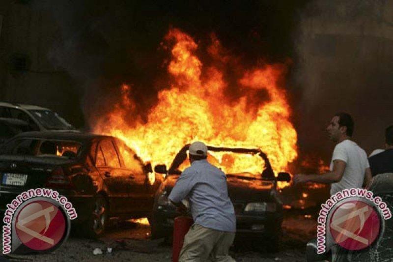 10 tewas dalam ledakan di Lebanon