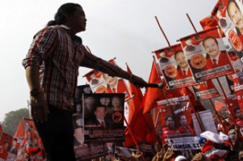 Didi Kempot Kampanye PDIP/Joko Sulistyo
