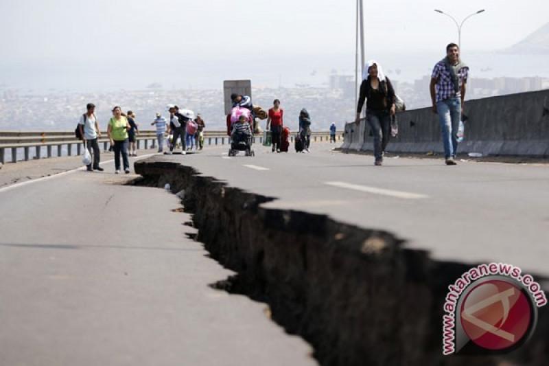 Gempa bumi magnitudo 6,8 guncang Chile bagian utara