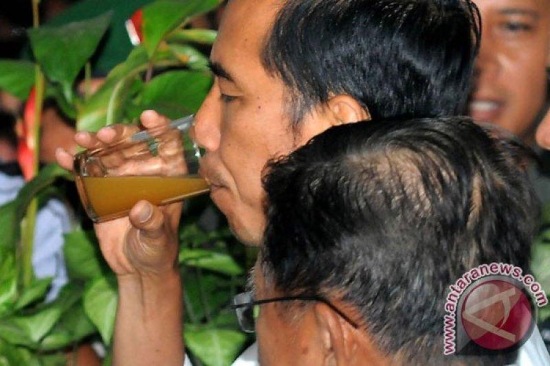 Jokowi tambah frekuensi minum jamu cegah corona