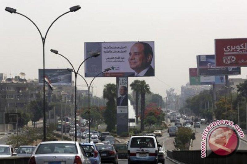 Kairo Lengang Saat Pelantikan Presiden Sisi