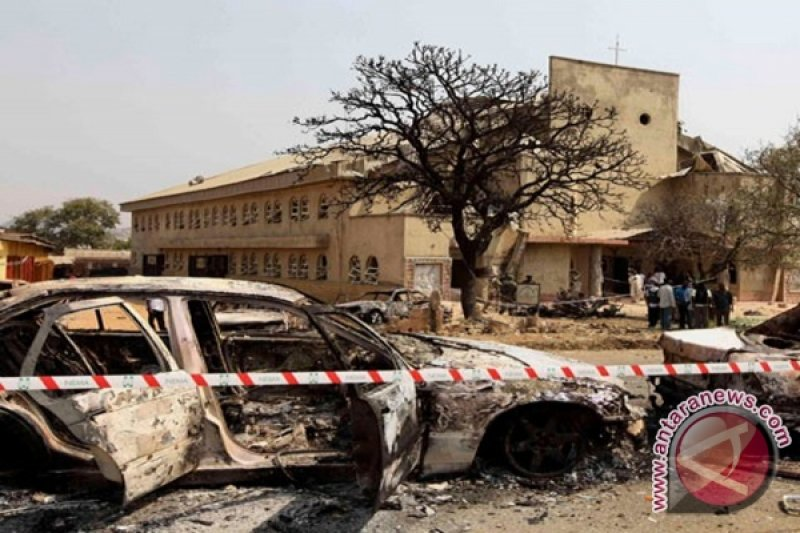 Kelompok bersenjata tewaskan 16 tentara di barat daya Nigeria