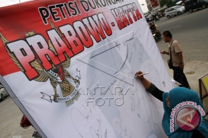 """Patria kampanye """"door to door"""" untuk Prabowo-Hatta"""