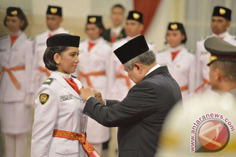 Seorang Model Jadi Anggota Paskibra Jawa Barat Antara News