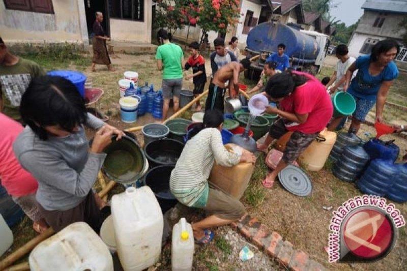 Warga Talawaan kesulitan air bersih