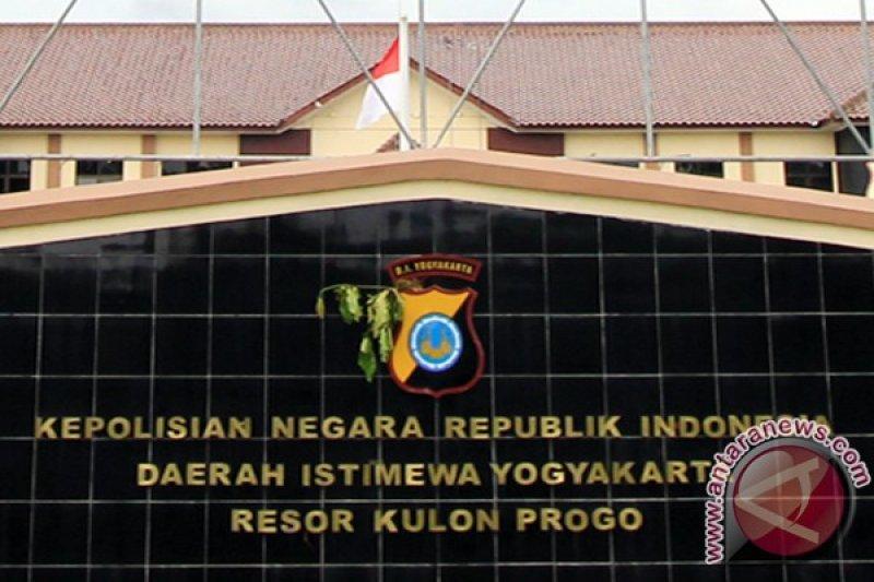 Polres Kulon Progo mengamankan tersangka pemilik psikotropika