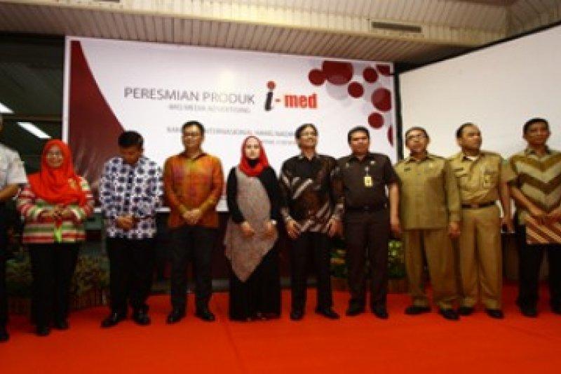 Soft Launching i-med di Bandara Hang Nadim/Joko Sulistyo