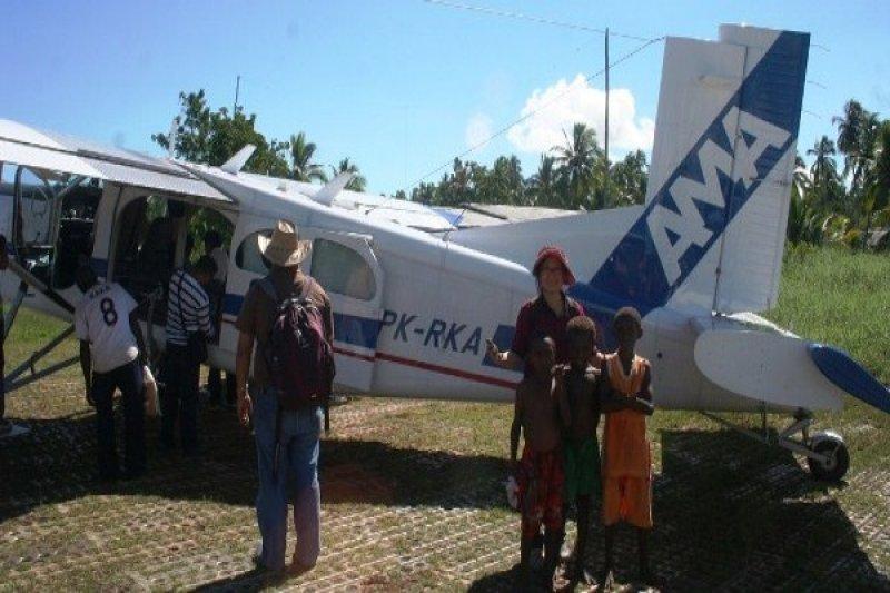 Pesawat AMA sering angkut orang sakit tanpa bayaran