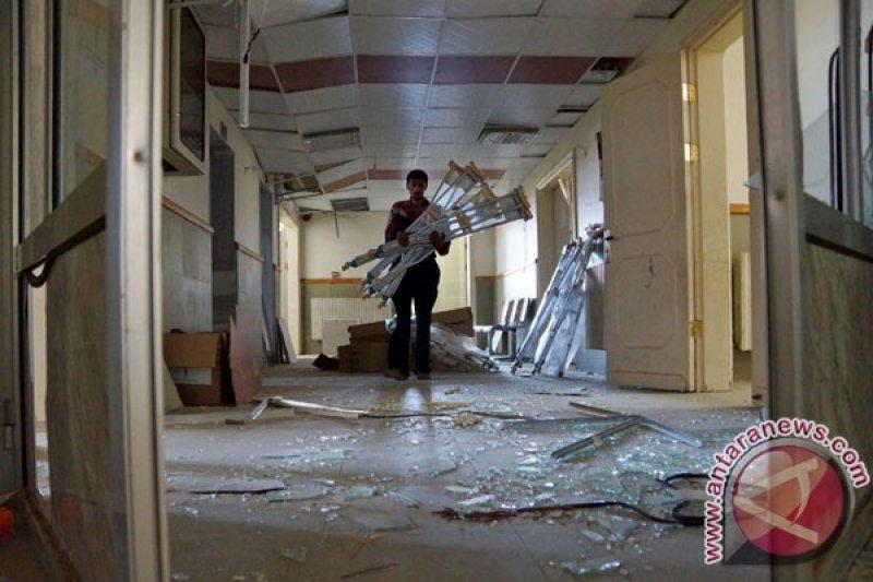 Sadis, rumah sakit Suriah dihantam artileri,  13 tewas