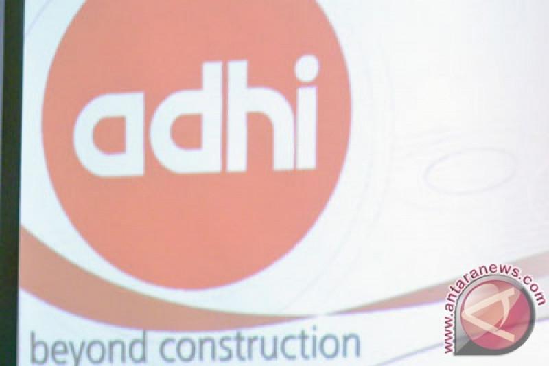 PT Adhi Karya sepanjang triwulan 1 ini meraih kontrak baru Rp2,5 triliun